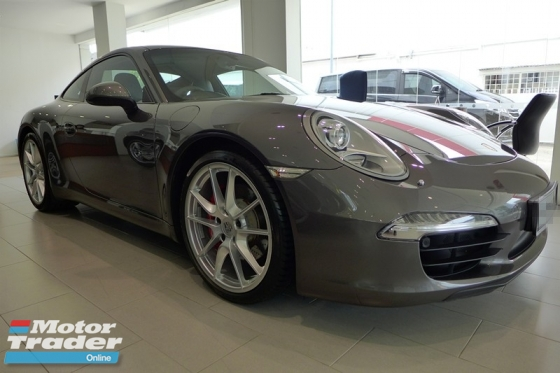 2015 PORSCHE 911 CARRERA S 3.8 PDK PORSCHE APPROVED