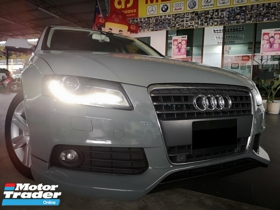 2012 AUDI A4 1.8  TFSI FACELIFT (A)100% CARKING