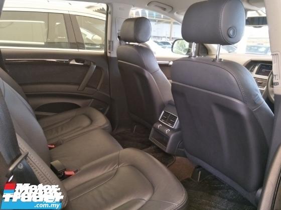 2012 AUDI Q7 3.0 TFSI OTTR MEMORY BUCKET SEATS POWER BOOT REVERSE CAMERA  PUSH START KEYLESS SMART ENTRY