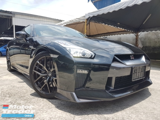 2016 NISSAN GT-R GT-R BLACK EDITION 3.8L (UNREG) 2 UNITS BLACK & WHITE AVAILABLE