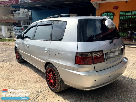 2003 KIA CARENS 1.8 SUNROOF PREMIUM FULL Spec(AUTO)2003 Only 1 LADY Owner, 94K Mileage, TIPTOP, ACCIDENT-Free, DIRECT-Owner, LEATHER Seat & SUNROOF
