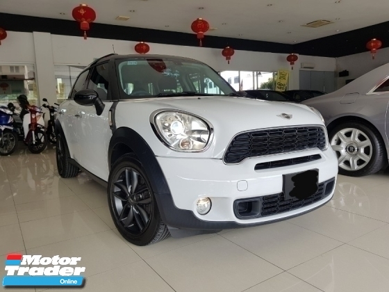 2013 MINI Countryman Cooper S 1.6 ONE YEAR WARRANTY PROVIDED