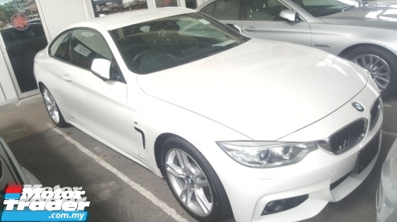 2015 BMW 4 SERIES 420i M Sport Coupe Unreg 1 YEAR WARRANTY