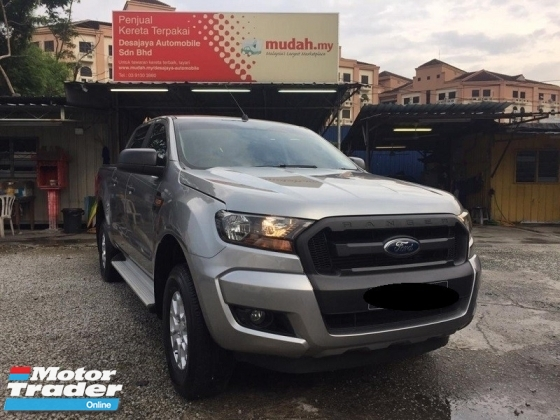 2017 FORD RANGER 2.2 XL 4WD (M) Under Warranty, Low mileage