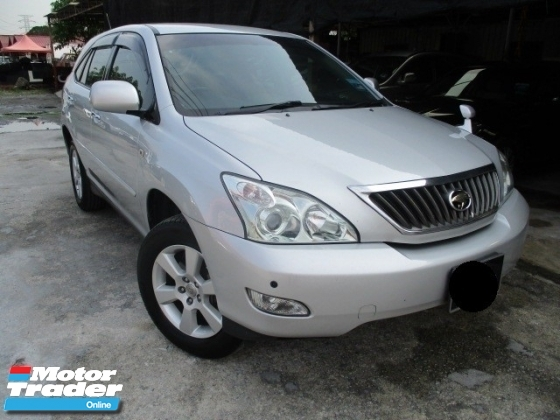 2010 TOYOTA HARRIER 240G ALCANTARA VERSION electric seat power boot