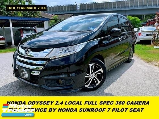 2014 HONDA ODYSSEY EXCLUSIVE LOCAL FULL SPEC FULL SERVICE BY HONDA MALAYSIA