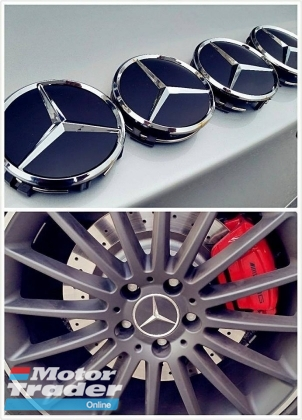 4pcs Mercedes sport Wheel Center Cap Rim cap 75mm  Exterior & Body Parts > Car body kits
