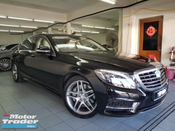 2017 MERCEDES-BENZ S-CLASS S400L AMG Pre-owned Reg 18
