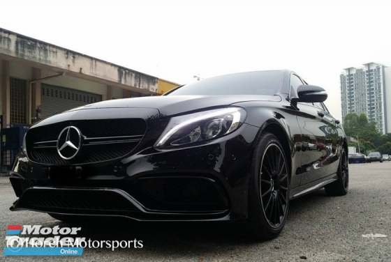 Mercedes W205 C250 C300 Convert C63 AMG Bodykit  Exterior & Body Parts > Car body kits