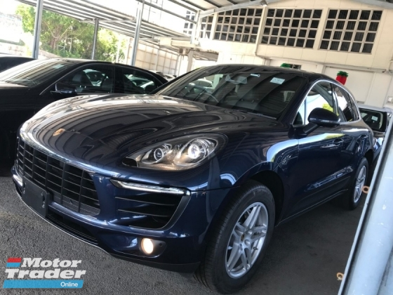 2015 PORSCHE MACAN MACAN S 3.0 TWIN TURBO JAPAN POWER BOOTH 2015 KEYLESS ENTRY AND KEYLESS START UNREG