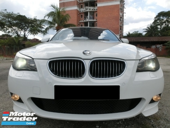 2006 BMW 5 SERIES 525I M-SPORTS  1OWN PILOT 90K KM LOW MILEAGE
