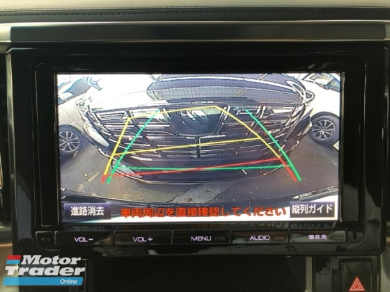 2015 TOYOTA VELLFIRE 2.5 ZA Z A SROOF ROOF MONITOR CLEARANCE SALES