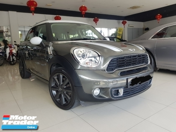 2013 MINI Cooper S COUNTRYMAN ALL 4WD LOCAL SPEC