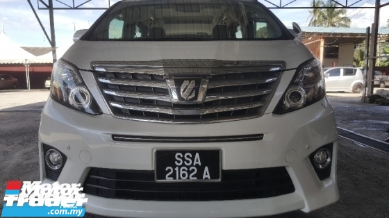 2013 TOYOTA ALPHARD 240S C PACKAGE