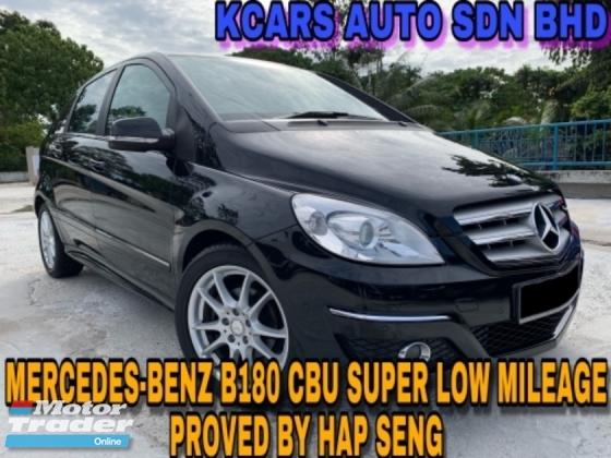 2012 MERCEDES-BENZ B-CLASS B180 SUPER LOW MILEAGE PROVED BY HAP SENG