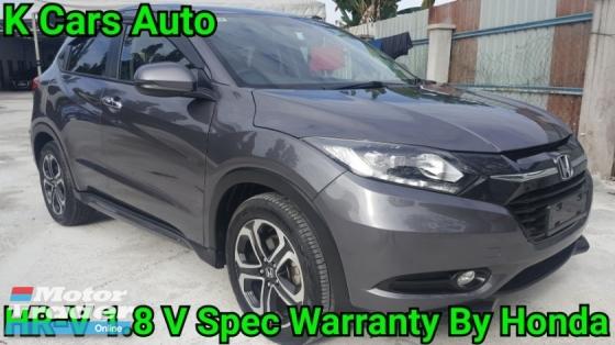 2017 HONDA HR-V 1.8 i-VTEC V SPEC FULL SERVICE AND WARRANTY BY HONDA UNTIL 2021 TOTALY LIKE NEW CAR CONDITION WHY NEED BUY NEW CAR