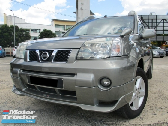2007 NISSAN X-TRAIL 2.5L No Off Road NismoBodykits