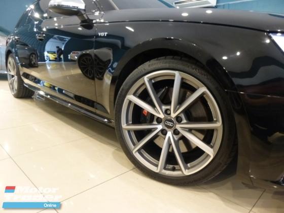 2018 AUDI S4 3.0 Wagon Avant S.Line Black Edition Full Option Spec. HIGHEST Grade CAR. Genuine LOW Mileage. Audi