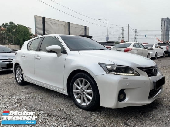 2012 LEXUS CT200H 1.8 (A) R/CAMERA L/SEAT