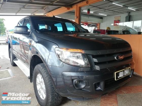 2014 FORD RANGER 2.5 XL TDI 4X4 DOUBLE CAB