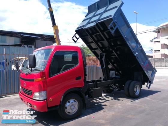 2019 Hino Xzu410 Steel tipper