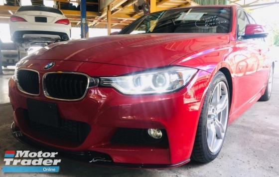 2014 BMW 3 SERIES 320D M SPORT 2.0T KEYLESS ENTRY , E/M SEAT , AUTO PLUS FRONT LIP , HARMAN KARDON , FREE WARRANTY
