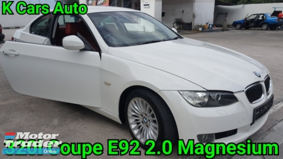 2011 BMW 3 SERIES 320ci E92 2.0 COUPE CBU FACELIFT M-SPORT KEEP LIKE NEW CAR CONDITION NO REPAIR NEED LIMITED RED NAPPA LEATHER SEAT