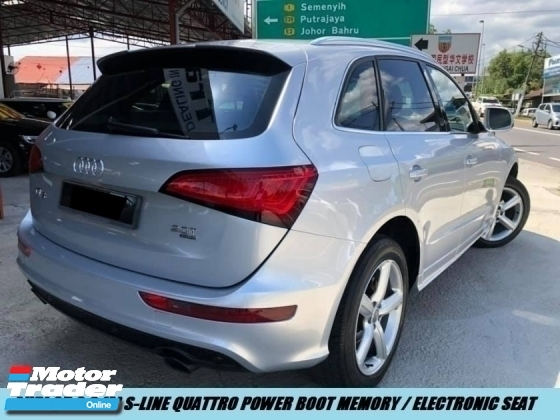 2013 AUDI Q5 S LINE QUATTRO LOCAL ONE OWNER LOW MILEAGE NICE PLATE