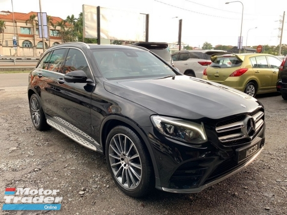 2016 MERCEDES-BENZ GLC 250  2.0 (A) POWER BOOT REVERSE CAMERA MG BODYKIT