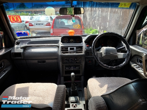 1996 MITSUBISHI PAJERO 2.5 SUV FULL Spec(MANUAL)1996 Only 1 UNCLE Owner, LOW Mileage, TIPTOP, ACCIDENT-Free, DIRECT-Owner, with SIDE MIRROR CONTROLLER