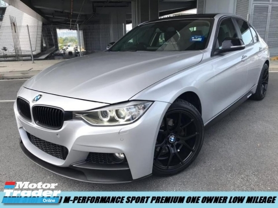 2016 BMW 3 SERIES 316I M-PERFORMANCE SPORT PREMIUM ONE OWNER LOW MILEAGE