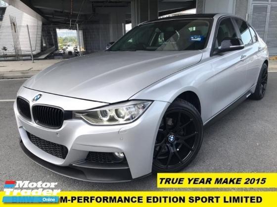 2015 BMW 3 SERIES 316I M-SPORT M=PERFORMANCE LIMITED EDITION LOCAL SPEC ORIGINAL LOW MILEAGE
