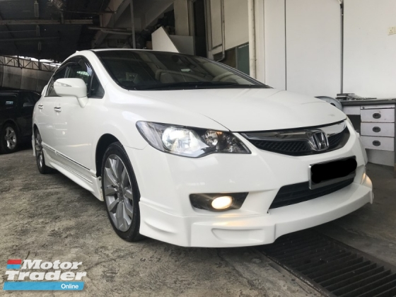 2012 HONDA CIVIC 2.0S IVTEC 2012 LIKE NEW CONDITION LOW RATE FAST APPROVAL