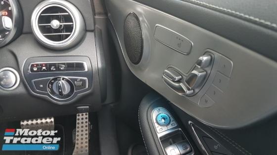 2016 MERCEDES-BENZ C-CLASS 2016 Mercedes C180 Coupe AMG Sport Japan Panaromic Roof HUD Full Leather Keyless Radar LKA Unregister for sale