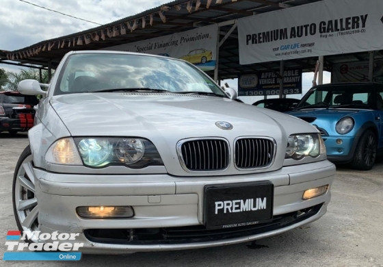 2000 BMW 3 SERIES 320I SPORTS E46 DOUBLE VANOS 6 CYLINDERS LIMITED UNIT CASH