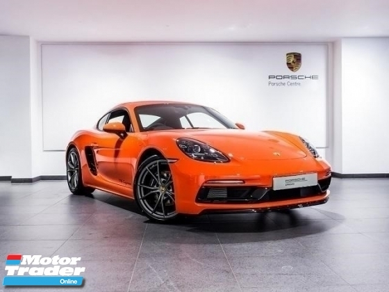 2018 PORSCHE CAYMAN 718 2.0 Sport Design Package Porsche UK Approved Pre Owned