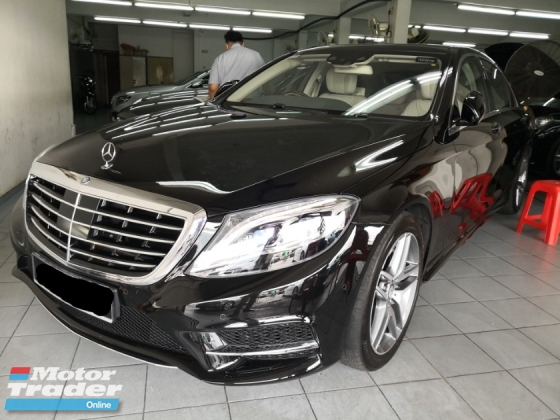 2017 MERCEDES-BENZ S-CLASS S400L Hybrid CKD AMG SPORT TRUE YEAR MADE 2017 Mil 19k km only Full Service CnC Warranty to 2022