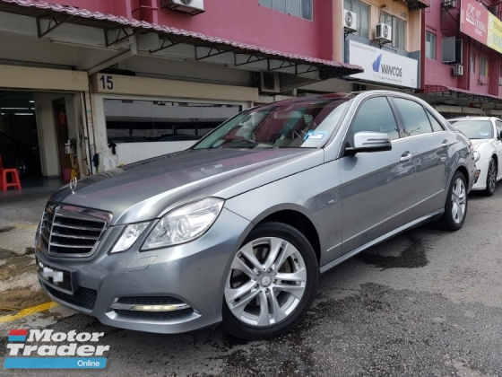 2011 MERCEDES-BENZ E-CLASS E250 AVANTGARDE Local 11