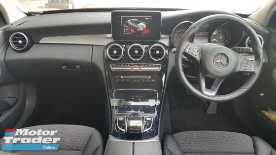 2015 MERCEDES-BENZ C-CLASS 2015 Mercedes C180 Avantgarde Radar Blind Spot LKA Unregister for sale