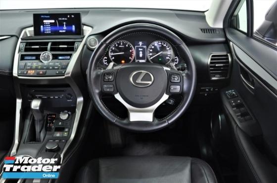 2016 LEXUS NX NX200 T 2.0 Premium LOCAL 45K-Mil U/Wrnty