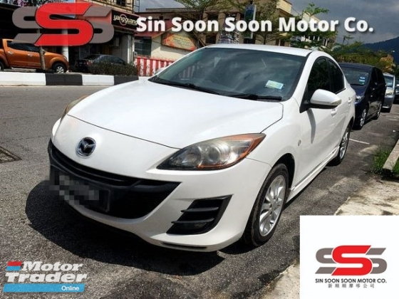 2011 MAZDA 3 3 1.6 SPORT Sedan FULL(AUTO)2011.12 Only 1 UNCLE Owner, 82K Mileage, TIPTOP, ACCIDENT-Free, DIRECT-Owner, AIRBEG& MAZDA SERVICE RECORD
