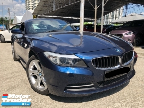 2011 BMW Z4 S DRIVE 23I, VIP Owner, 1 Owner, Well Maintance, Leather Seat, M Sport, Call Now