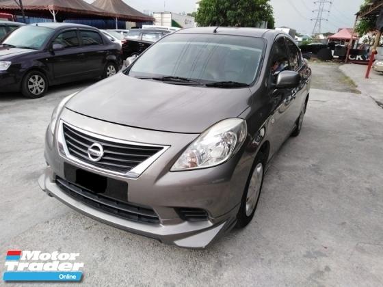 2012 NISSAN ALMERA ORI IMPUL BODYKIT HIGH LOAN