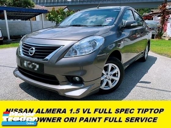 2016 NISSAN ALMERA 1.5 VL 1 LADY OWNER FULL SERVICE RECORD HIGH SPEC MODEL