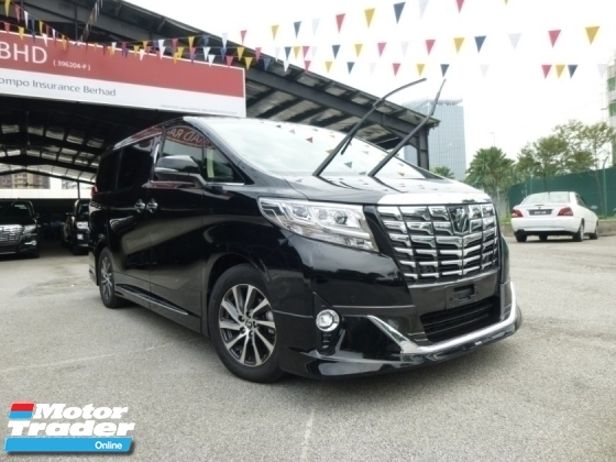 2016 TOYOTA ALPHARD 3.5 Executive Lounge. HIGHEST Grade CAR. Provide WARRANTY. Free Servicing. VELLFIRE Toyota Nissan