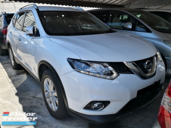 2016 NISSAN X-TRAIL 2.5 4WD TRUE YEAR MADE 2016 NO SST Mil 55k km only Full Service Tan Chong