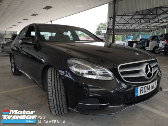 2014 MERCEDES-BENZ E-CLASS E220 CDi 2.1 Turbo Diesel Unregistered