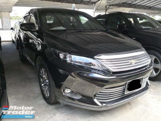 2014 TOYOTA HARRIER 2.0 Premium Edition TRUE YEAR MADE 2014 NO SST 2016