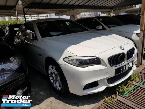 2012 BMW 5 SERIES 528I M-SPORTS