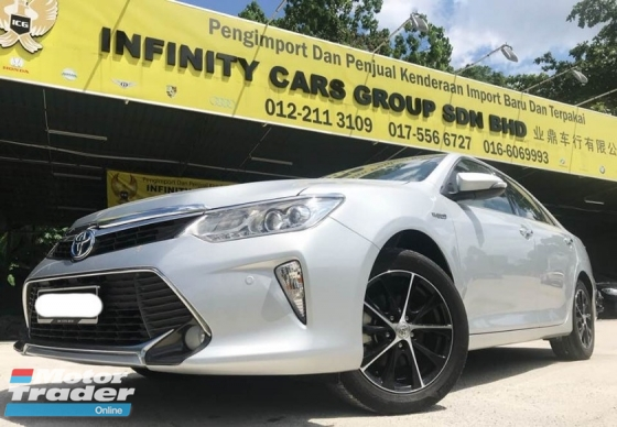 2017 TOYOTA CAMRY  2.5 Hybrid Luxury Sedan FULL LOAN